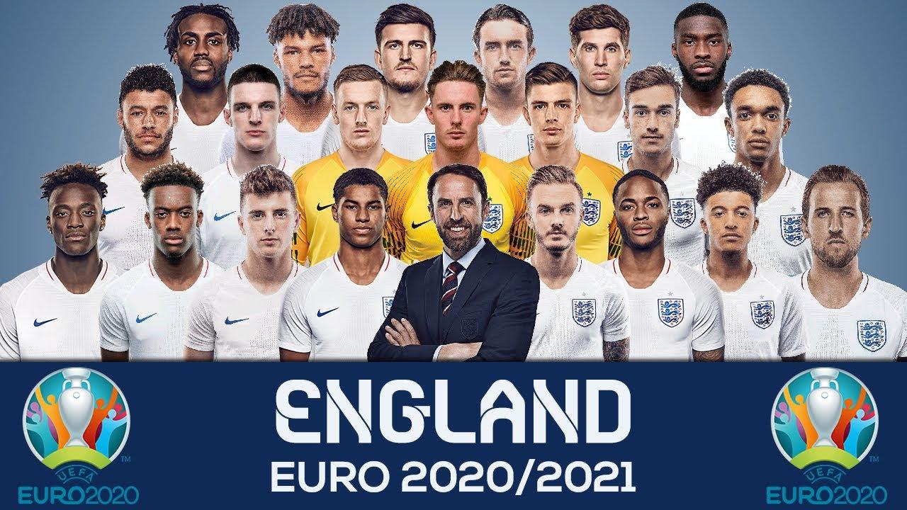 EURO 2020 England team